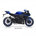 Мотоциклет Yamaha YZF-R1 в цвят Yamaha Blue