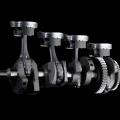 Мотоциклет Yamaha YZF-R1 - базиран на YZR-M1 998-кубиков двигател, 200 к.с., 4-цилиндъра, с кръстосан колянов вал