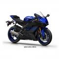 Мотоциклет Yamaha YZF-R6 Yamaha Blue