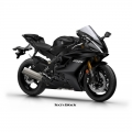 Мотоциклет Yamaha YZF-R6 2019 Tech Black