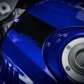 Мотоциклет Yamaha YZF-R6 - олекотен, алуминиев, 17-литров резервоар