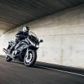 Мотоциклет Yamaha FJR1300A 2019 - спортен тип алуминиева рама за пъргаво управление