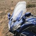 Мотоциклет Yamaha FJR1300AE - с напълно регулируеми предно стъкло, обтекател, седалка и ръкохватки