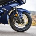 Мотоциклет Yamaha FJR1300AE - с електронно регулируемо окачване и USD вилки