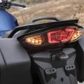 Мотоциклет Yamaha FJR1300AE - задни LED светлини, интегрирани в дизайна на опашката
