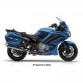 Мотоциклет Yamaha FJR1300AS Phantom Blue - 1298-кубиков, плавно работещ двигател с YCC-T