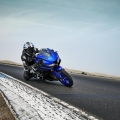 Мотоциклет YAMAHA YZF-R125 2019 - track session на пистата