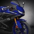 Мотоциклет YAMAHA YZF-R125 в новата за 2019-та Yamaha Blue разцветка