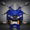 Мотоциклет YAMAHA YZF-R125 с елегантен нов корпус от R серията и двойни LED фарове