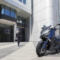 Скутер Yamaha X-MAX 400 2019 - екстри и поведение, предизвикващи възхищение