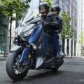 Скутер Yamaha X-MAX 400 2019 - еднакво комфортен за двама
