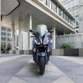 Скутер Yamaha X-MAX 400 2019 - компактен профил с динамичен изглед и олекотена рама