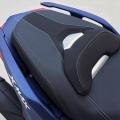 Скутер Yamaha X-MAX 400 2019 - комфортна, изпипана до последния детайл седалка за двама