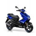 Скутер Yamaha Aerox 4 2019 Yamaha Blue - синьото винаги е на мода