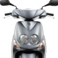 """Скутер Yamaha YN50FU NEOS 4 2019 - със специфичния, култов, """"двуок"""" дизайн на фара"""