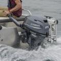 Двигател Yamaha F25GMHS - 25% по-лекият и конструктивно нов F25G е със зашеметяваща за теглото си мощност и изключително икономичен
