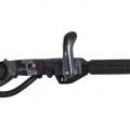 Двигател Yamaha F25GMHS - многофункционална ръкохватка на щурвала с монтиран отпред и лесно достижим от водача лост за превключване