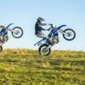 """Мотоциклет Yamaha WR450F - най-новото WR-F поколение с """"обърнат"""" двигател"""
