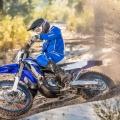 Мотоциклет Yamaha WR450F - гората го обича