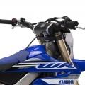 Мотоциклет Yamaha WR450F - компактен резервоар и дизайн с централизиране на тежестта
