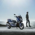 Скутер Yamaha X-MAX 300 2019 - отличен избор и за извънградски бягства през почивните дни