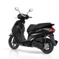 Скутер Yamaha Delight 125 - черното му отива
