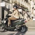 Скутер Yamaha Delight 125 - ултра лек, тежи едва 99 кг с пълен маслен и горивен резервоар