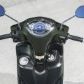 Скутер Yamaha Delight 125 - стилното табло пасва перфектно на характерния му дизайн