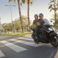 Скутер Yamaha Xenter 125 2019 - минимално суетене в градския трафик