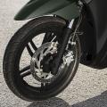 Скутер Yamaha Xenter 125 2019 - с олекотени 16-инчови джанти и високоефективна унифицирана спирачна система