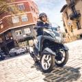 Скутер Yamaha Tricity 125 2019 - с Leaning Multi Wheel (LMW) система за независима работа на двете вилки на предното окачване