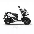 Скутер Yamaha Tricity 125 Milky White 2019