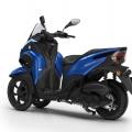 Скутер Yamaha Tricity 125 2019 - достатъчно простор за краката за максимален комфорт