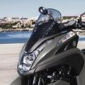 Скутер Yamaha Tricity 125 2019 - модерен и ефективен аеродинамичен силует