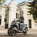 Скутер Yamaha Tricity 125 2019 - ще ви преведе през градския трафик изключително ловко, леко и безопасно