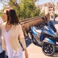 Скутер Yamaha Tricity 155 - лесно и стабилно управление, икономична работа, удоволствие и контрол на времето