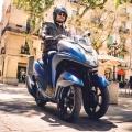 Скутер Yamaha Tricity 155 - динамика, в която ще се влюбите