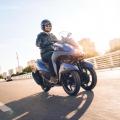 Скутер Yamaha Tricity 155 - по-мощният от семейството на триколесните скутери Yamaha