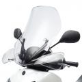 Средно дълъг прозрачен визьор (слюда) за скутер Yamaha Xenter 125 - 52S283J00000