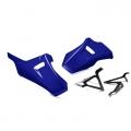 Комплект сини долни предпазни спойлери за картера на мотоциклет Yamaha Tracer 700 и MT-07 - 1WS283R0 - цвят Yamaha Blue