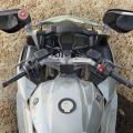 Предпазители за ръцете на водача за мотоциклет Yamaha FJR1300 - 1MCF61C0 - с монтаж зад огледалата