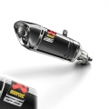 Оригинален ауспух Akrapovic Carbon с карбонова обвивка за Yamaha MT-03 - 907983340200