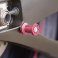 Червени ролки за стойка Yamaha за различни модели мотоциклети - YMD200252000 - цвят Red