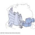Извънбордов двигател YAMAHA F100FETL - усъвършенствани смукателна и изпускателна система