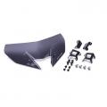 Къса спортна слюда за Yamaha MT-09, BS2261C00000 - доставя се с необходимите крепежни елементи