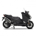 Престилка, покриваща краката за скутер Yamaha TMAX BV1F470L0000 - лесно сваляне на задната част с цип