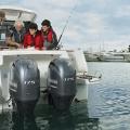 Двигател Yamaha F175CETL DBW - елегантен капак с дизайн от най-ново поколение