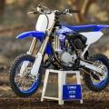 Мотоциклет Yamaha YZ65 2019 в цвят Racing Blue