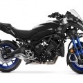 Мотоциклет Yamaha NIKEN - олекотена хибридна рама от стомана и алуминий