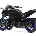 Мотоциклет Yamaha NIKEN - с кормилно управление Ackerman